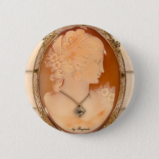 cameo, by Rugiada 6 Cm Round Badge