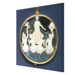 Cameo commemorating the Naval victory of Canvas Print