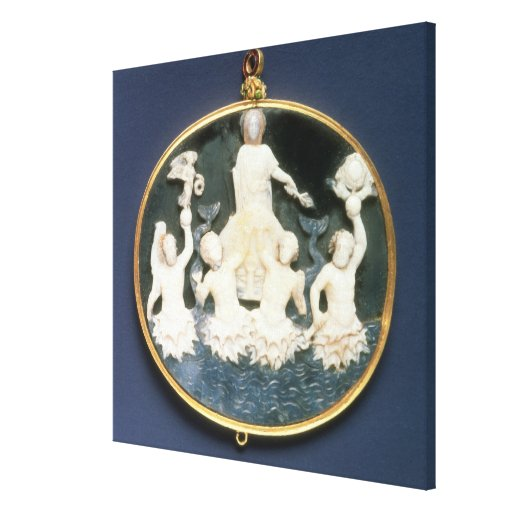 Cameo commemorating the Naval victory of Stretched Canvas Prints