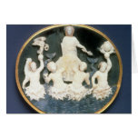 Cameo commemorating the Naval victory of Greeting Card