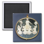 Cameo commemorating the Naval victory of Refrigerator Magnet