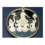 Cameo commemorating the Naval victory of Post Card