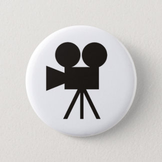 Camera Action 6 Cm Round Badge
