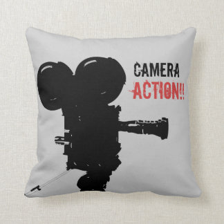 Camera Action Pillow