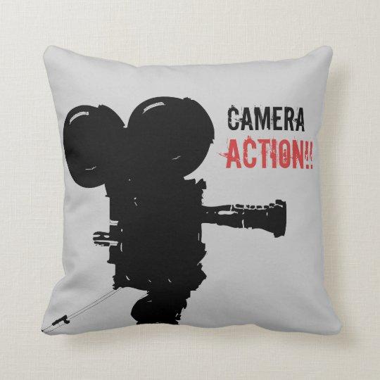 Camera Action Pillow