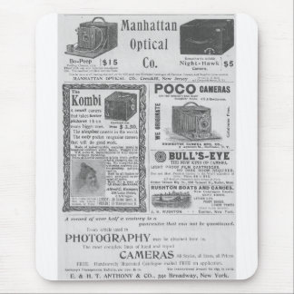 Camera ads mouse mat