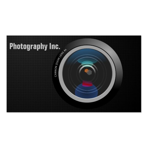 Camera Business Card Template