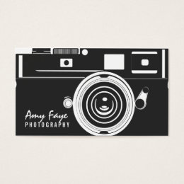 Photography business cards business card printing zazzle uk camera business cards photography reheart Image collections