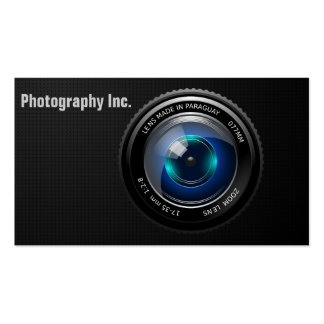 Camera Card Pack Of Standard Business Cards