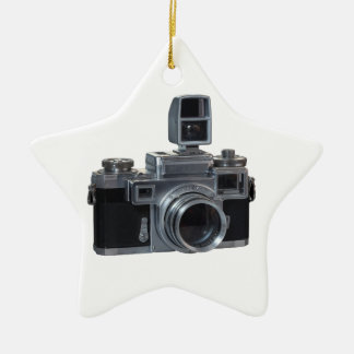 Camera Ceramic Star Decoration