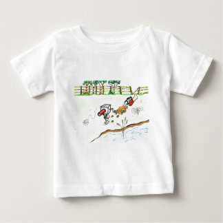 camera chasing a mosquito baby T-Shirt