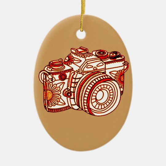 Camera Christmas Ornament | Zazzle.co.uk