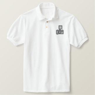 Camera Embroidered Shirt
