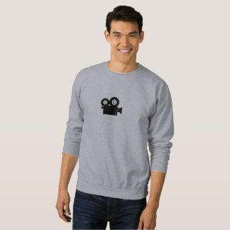 Camera Icon Men's Basic Sweatshirt