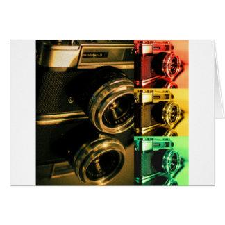 Camera juxta... greeting card