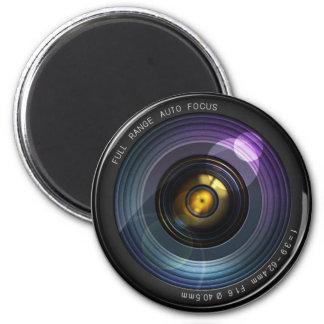 Camera Lens 6 Cm Round Magnet