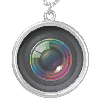 Camera Lens Custom Necklace