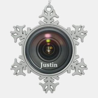 Camera Lens Ornament Customize it!