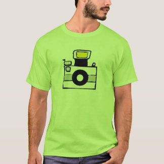 Camera logo t-shirt