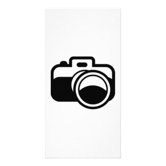 Camera Personalized Photo Card