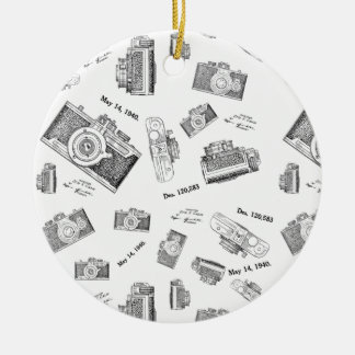 camera photo christmas ornament