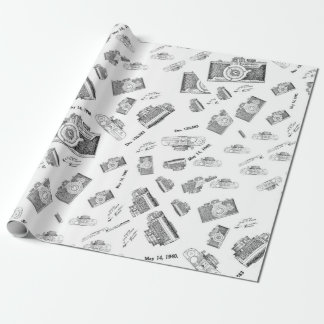 camera photo wrapping paper