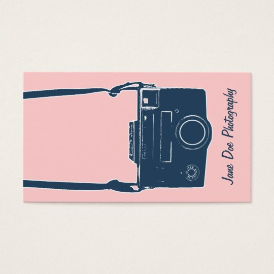 Camera Photography Girly Pink & Blue Antique Film