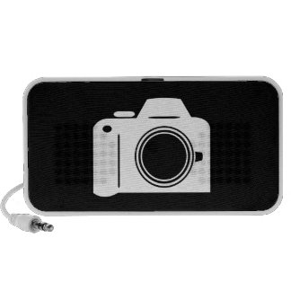 Camera Pictogram Doodle Speaker