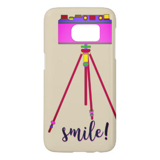 Camera Retro Cartoon Funny Girly Pink Smile Chic