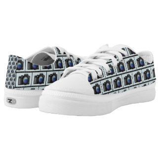 CAMERA SHOES PRINTED SHOES