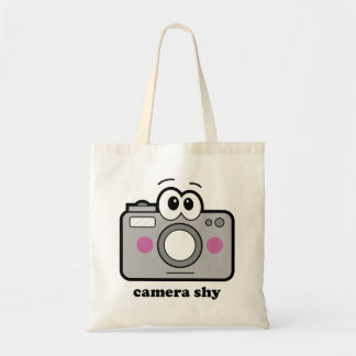 Camera Shy Tote Bag