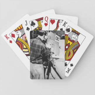 Camera Technician Playing Cards