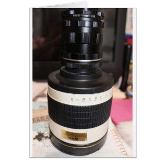 Camera Telescope Lens Cards