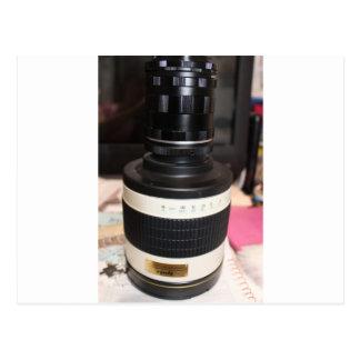 Camera Telescope Lens Postcard