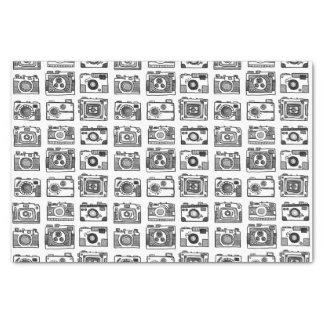 Cameras (Hand-drawn) Tissue Paper
