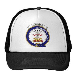 Cameron Clan Badge Cap