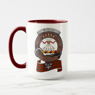 Cameron Clan Badge Combo 15oz Mug