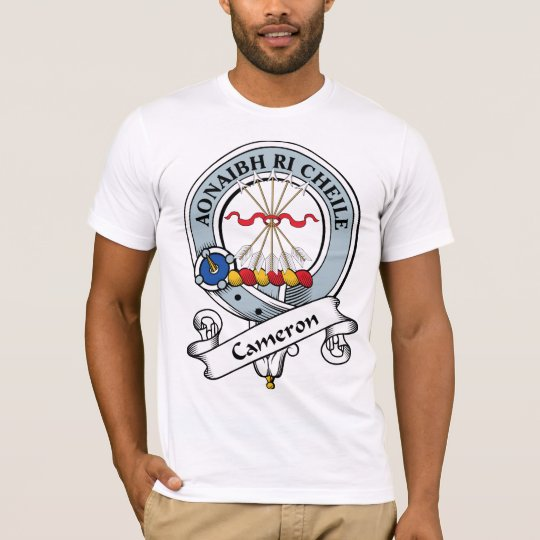Cameron Clan Badge T-Shirt