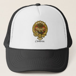 Cameron Clan Crest Trucker Hat