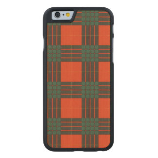 Cameron clan Plaid Scottish tartan Carved Maple iPhone 6 Case