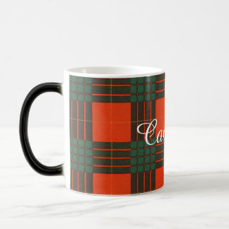 Cameron clan Plaid Scottish tartan Magic Mug