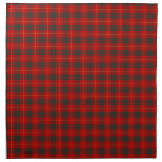 Cameron Clan Tartan Red and Green Plaid Napkin
