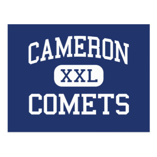 Cameron Comets Middle Cameron Wisconsin Postcard
