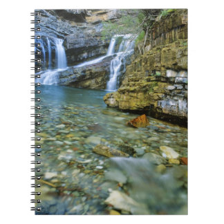 Cameron Falls in Waterton Lakes National Park in Notebooks