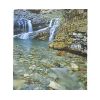 Cameron Falls in Waterton Lakes National Park in Notepad