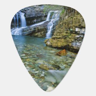 Cameron Falls in Waterton Lakes National Park in Plectrum