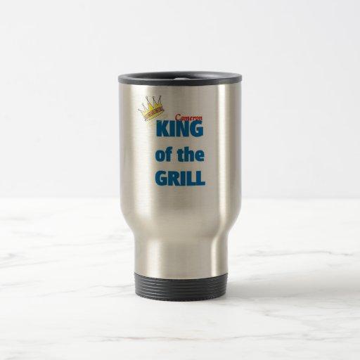 Cameron King of the grill Mug