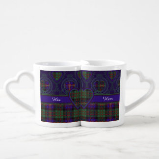 Cameron of Erracht clan Plaid Scottish tartan Coffee Mug Set