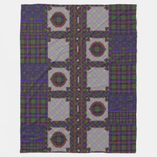 Cameron of Erracht clan Plaid Scottish tartan Fleece Blanket