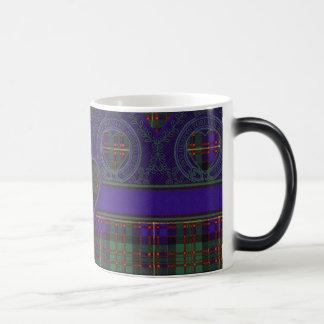 Cameron of Erracht clan Plaid Scottish tartan Magic Mug